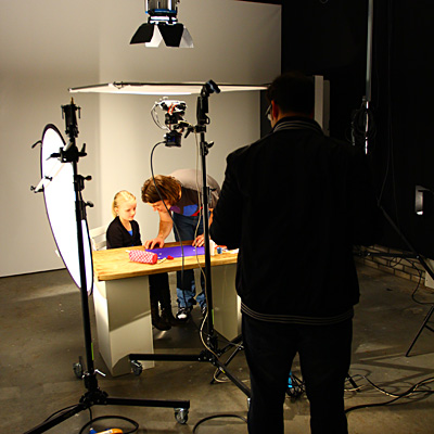Profile Shoot in Studio
